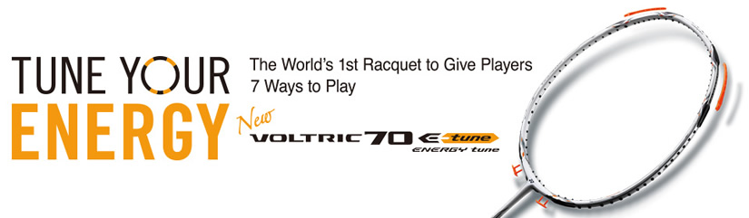 Yonex Voltirc 70 E-Tune Badminton Racket