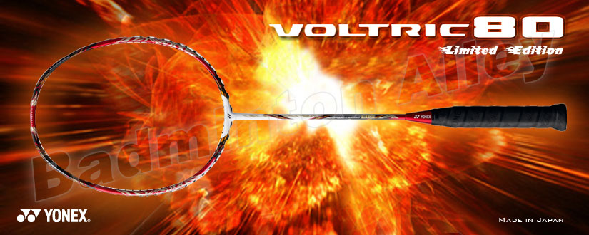 Yonex 2011 World Championship Limited Edition Voltric 80LTD (Red) Badminton Racket