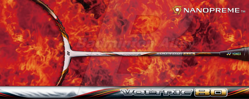 Yonex Voltric 80 Nanopreme™ Tri-Voltage Power Generator Badminton Racket